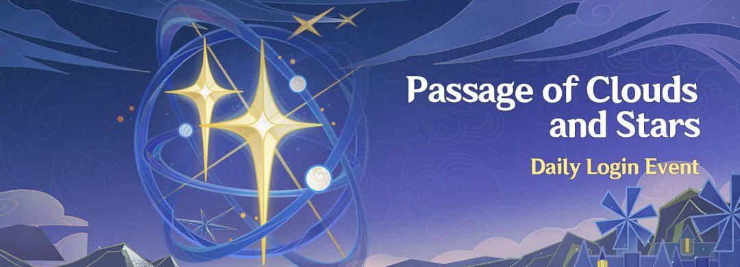 """Passage of Clouds and Stars"" – Napi belépős esemény"
