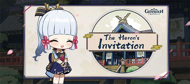 """""""The Heron's Invitation"""" Web Esemény kezdetét vette"""