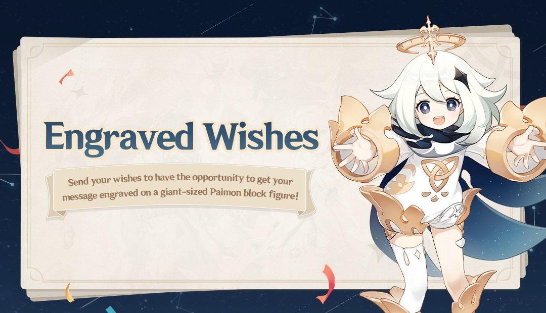Az Engraved Wishes web esemény kezdetét vette!