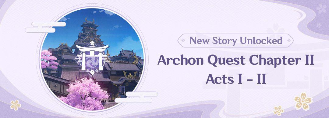 Új Archon Történet Chapter II: Act I és Act II hamarosan érkezik
