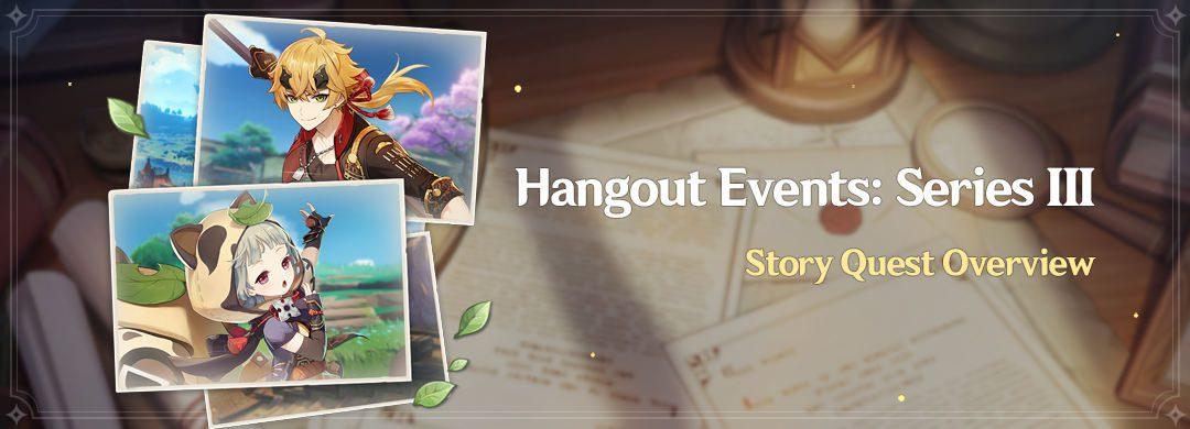 """""""Hangout Events: III. Széria"""" – Történet Küldetés Áttekintő"""